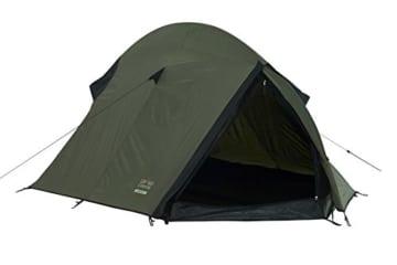 Grand Canyon Cardova 1 - leichtes Zelt, 1 - 2 Personen, für Trekking, Camping, Outdoor, Festival mit kleinem Packmaß, einfacher Aufbau, Wasserdicht, olive/schwarz, 302009 - 1