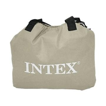 Intex 64418 Luftbett Comfort Plush High Rise Airbed Kit Queen, 230 V inklusive eingebauter Luftpumpe, 152 x 203 x 56 cm - 4