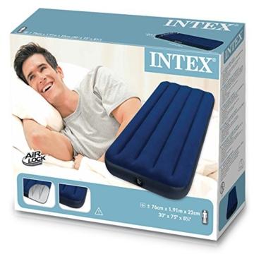 Intex 68950 - Luftbett 191 x 76 x 22 cm - 3