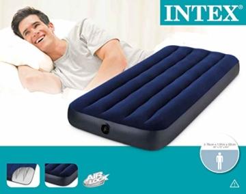 Intex 68950 - Luftbett 191 x 76 x 22 cm - 8