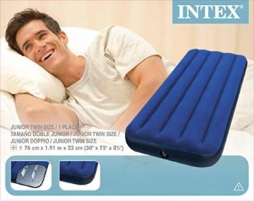 Intex 68950 - Luftbett 191 x 76 x 22 cm - 9