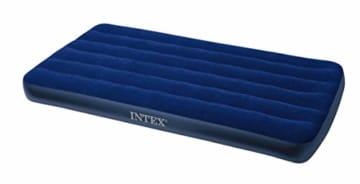 Intex Classic Downy Luftbett - Twin - 99 x 191 x 22 cm - Blau - 1