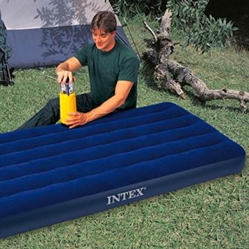 Intex Classic Downy Luftbett - Twin - 99 x 191 x 22 cm - Blau - 3