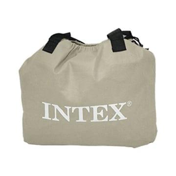 Intex Deluxe Pillow Rest Raised Luftbett - Queen - 152 x 203 x 42 cm - Mit eingebaute elektrische Pumpe - 2