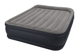 Intex Deluxe Pillow Rest Raised Luftbett - Queen - 152 x 203 x 42 cm - Mit eingebaute elektrische Pumpe - 1