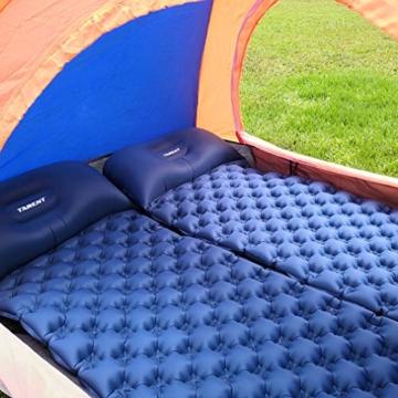 Tarent Isomatte/Aufblasbare Luftmatte Ultraleicht Kleines Packmaß, Camping Matratze und Isomatten, Schlafmatte für Outdoor, Reise, Strand - 6