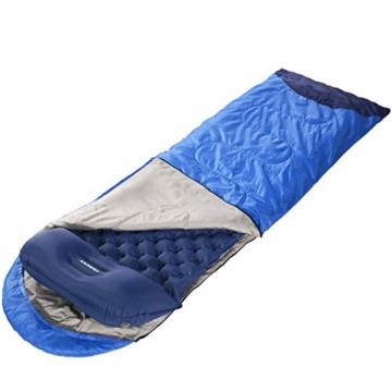 Tarent Isomatte/Aufblasbare Luftmatte Ultraleicht Kleines Packmaß, Camping Matratze und Isomatten, Schlafmatte für Outdoor, Reise, Strand - 8
